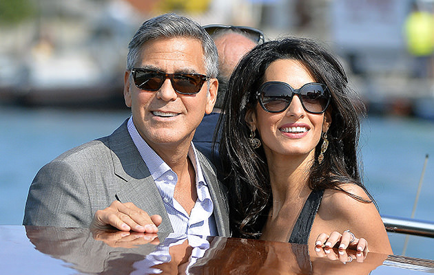 Photo credit: Gettyimages / George Clooney & Amal Alamuddin