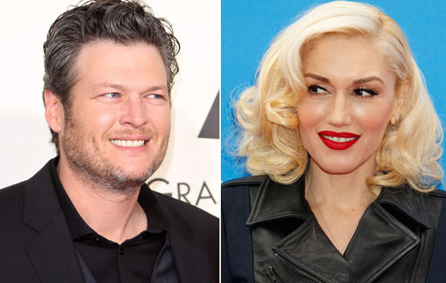 Blake-Shelton-And-Gwen-Stefani-Hitting-It-Off